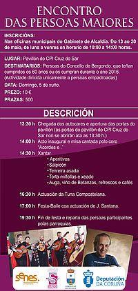 XVI Encontro das persoas maiores de Bergondo: Concello Bergondo