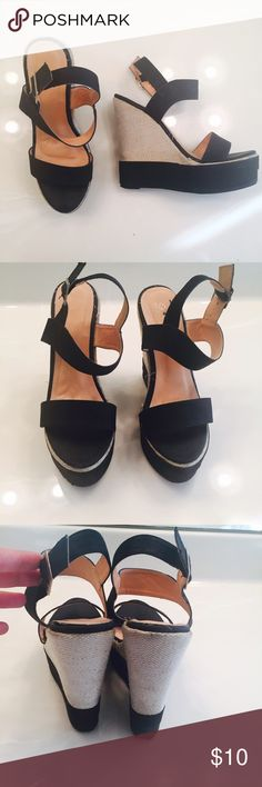 Wedged Heels In good condition Shoes Heels