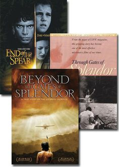 Beyond the gates of Splendor/End of the Spear - a moving documentary about five missionaries killed in Ecuador and as a result, a whole tribe responded to the love of Jesus. Watched this in lecture hall, I want it so bad!