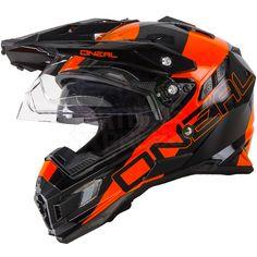 2016 ONeal Sierra Adventure Helmet - Edge Black Orange