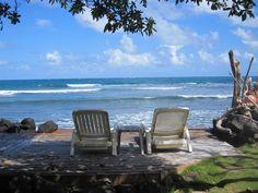 A nice Hawaiian vacation spot