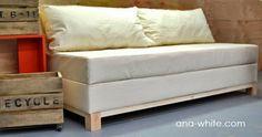 hacer sofa. low-cost. ideas para hacer un sofa, sofa economico
