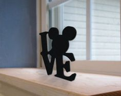 "Disney ""LOVE"" Standing Letters"