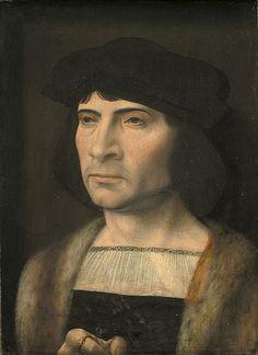 File:Mandsportræt.jpgJan Gossaert (1478–1532) Link back to Creator infobox template wikidata:Q346952 Title Dansk: Mandsportræt English: Portrait of a Man Date1453-1532 Mediumoil on panel Dimensions41.5 × 31.5 cm (16.3 × 12.4 in)