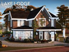 Sims 4 Family House, Sims 4 Modern House, Modern Family House, Sims 4 House Design, Family House Plans, Sims 4 House Plans, Sims 4 House Building, The Sims 4 Lots, Cute Minecraft Houses