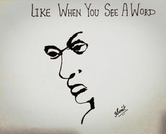 Like when you see a word