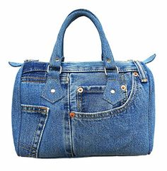 BDJ Classic Blue Denim Jean Doctor Style Women Handbag LL04 ** You can get additional details at the image link.Note:It is affiliate link to Amazon.