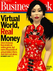 virtual world, real money