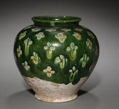 Jar, late 7th-8th century China, Tang dynasty