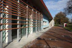 Daycare + Preschool in Ozzano Emilia, Italy | louvres