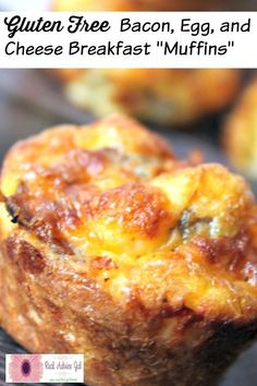 Easy Gluten Free Breakfast Muffins Recipe, perfect for making ahead of time.