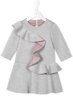 Купить Fendi Kids платье с оборками в O' from the world's best independent boutiques at farfetch.com. 400 бутиков, 1 адрес. . Toddler Dress, Toddler Outfits, Baby Dress, Kids Outfits, Baby Girl Fashion, Kids Fashion, Fashion Outfits, Little Girl Dresses, Girls Dresses