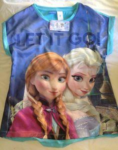 Disney Bnwt Frozen Blue Nightie Size 14 Rrp $18 Size 14, 18th, Frozen, Princess Zelda, Best Deals, Disney, How To Wear, Blue, Fictional Characters