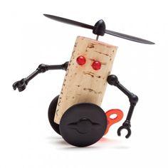 Creatief met kurk: hoe bouw je een vette robot? - Soekis
