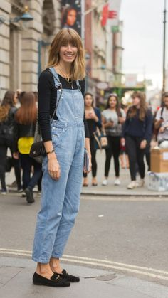 EVERYONE'S WEARING DUNGAREES (BUT HERE'S HOW NOT TO LOOK LIKE A DICK IN THEM) Veronika Heilbrunner