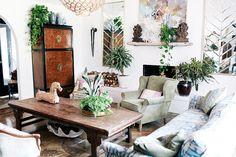 Detalhes do Céu: O apartamento estilo BoHo de Judy Aldridge