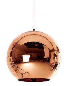 Suspension Copper Round / Ø 25 cm - Tom Dixon