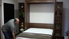 Bookcase Wallbed Demonstration