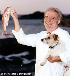 Rick Stein Saw him in Falmouth doing book signings