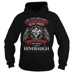 HINEBAUGH Good Heart - Last Name, Surname TShirts