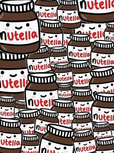 cute nutella background - Google Search