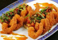 Camarão Empanado / Breaded Shrimp