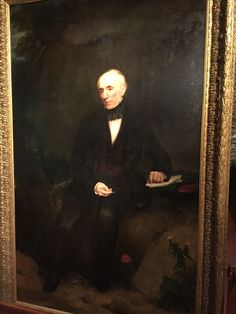fill your paper the breathings of your heart writer s  william wordsworth portrait on loan from the national gallery