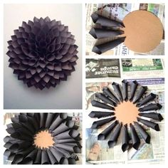 Beautiful How to Make a Paper Wreath – Dahlia Inspired Under $10 to Make! The post How to Make a Paper Wreath – Dahlia Inspired Under $10 to Make!… appeared first on 99 Decor .