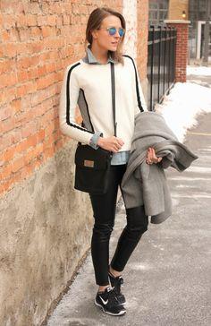 stylish way to wear