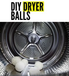 Eliminate chemicals, speed up drying time and keep your laundry smelling fresh with these DIY Dryer Balls. Easy to make Wool Dryer Balls with Essential Oils are an effective alternative to harsh chemicals. Wool Dryer Balls, Cleaning Spray, Diy Cleaners, Essential Oil Uses, Household Tips, Natural Health, Alternative, Laundry, Essentials