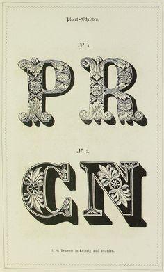 'Schrift- und Polytypen-Proben' (1848)