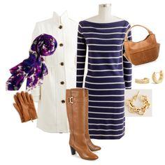 Purple & cognac
