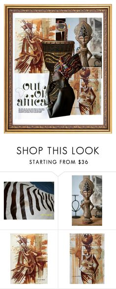 """#Tribaldecor"" by dollie-stoudemire-mccall on Polyvore featuring interior, interiors, interior design, home, home decor, interior decorating, NOVICA, Out of Africa and tribaldecor"