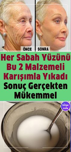 Uyandığınızda Yüzünüzü 2 Malzemeli Karışımla Yıkayın 5 Dakikadan F Beauty Care, Beauty Hacks, Hair Beauty, Beauty Skin, Face Care, Body Care, Bio Vegan, Les Rides, Natural Health Remedies