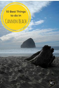 Cannon Beach is an upscale beach community on Oregon's north central coast. Check out these 10 great things to do on your Cannon Beach, Oregon vacation. via @wanderwwonder