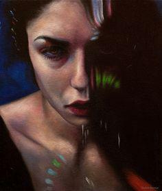Artist: Daliah L. Ammar #figurative #contemporary #painting