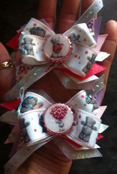 matchin tatty teddy bows xx