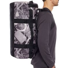 7b3c753d76e2 The North Face Base Camp Duffel Bag Large - Black X Ray Print - £84.99
