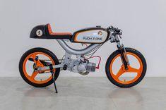 Cafe Racer Pasión — Puch X30 Cafe Racer - Fuzzies   ...
