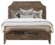 cute rustic bed frame