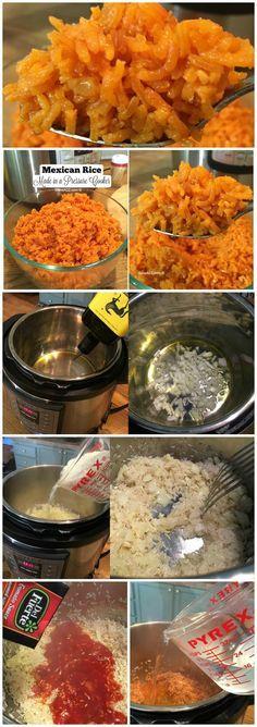 Pressure Cooker Recipe for Mexican Rice - iSaveA2Z.com