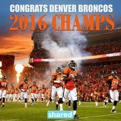 9a80ec56910 Congrats to Peyton Manning and the Denver Broncos for winning  SB50 ! Pro  Football Teams