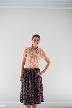 Sewing Like Mad: No. 8 Svaneke by How To Do Fashion