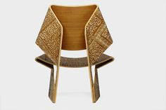 The Jalk Chair | Archi-Tectonics | Archinect