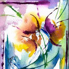 Akvarellkurs med Véronique Piaser-Moyen, Frankrike