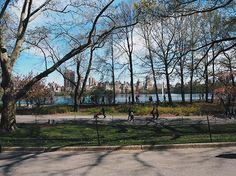 Hannah and The Blog bike Central Park