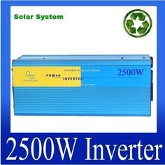 251.75$  Watch more here - http://aitw9.worlditems.win/all/product.php?id=32484002843 - 48v inverter 120v 2500w 48v to 220v inverter 2500w pure sine inverter