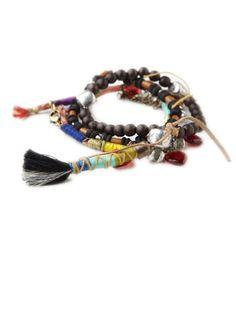 Free People Indian Bell Set, $18; freepeople.com #bracelets #budget
