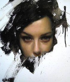 realistic oil portrait by Juan Jr. Simple Oil Painting, Oil Portrait, Portrait Paintings, Portrait Sketches, Abstract Nature, Realism Art, Surreal Art, Figure Painting, Art Oil