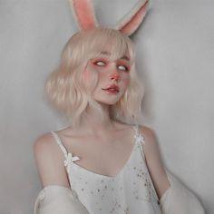 Сохранёночки 😝 #разное # Разное # amreading # books # wattpad Aesthetic People, Aesthetic Hair, Aesthetic Makeup, Cute Makeup, Makeup Looks, Hair Makeup, Bunny Makeup, Anime Makeup, Clown Makeup